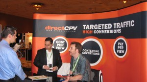 DirectCPV Advertising Network booth at AdTech San Francisco 2010