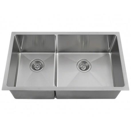 14 gauge micro radius stainless steel sink