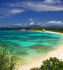 從沖繩(Okinawa)前往西表島(Iriomote Island)的輪渡