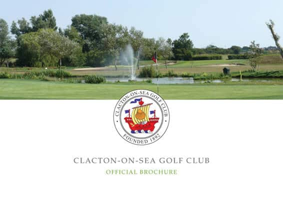 Clacton Golf Club Member Brochure
