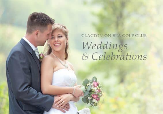 Clacton Golf Club Wedding Brochure