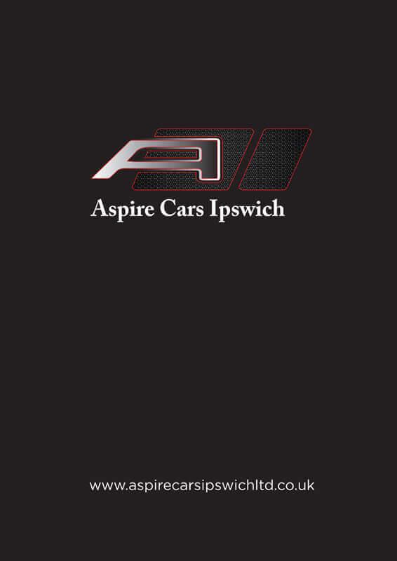 Aspire Cars Folder front