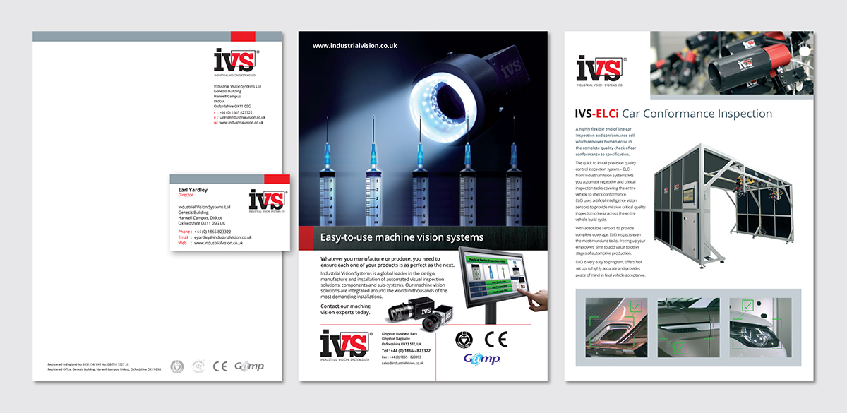 Stationery design, stationery printers, letter heading design, letter heading print, Adverts for industry, technical data sheets, case study, ivs