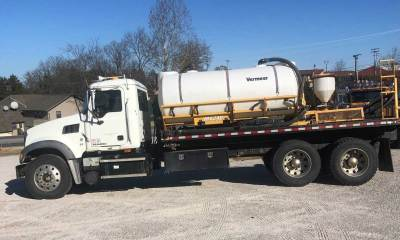 2008 Mack Granite Vermeer MX240