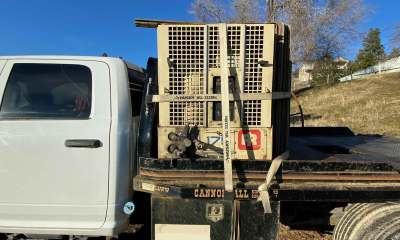2014 Ram 4x4 with Ingersoll Rand air compressor