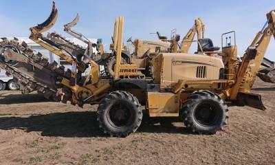 2006 Vermeer RT950 trencher
