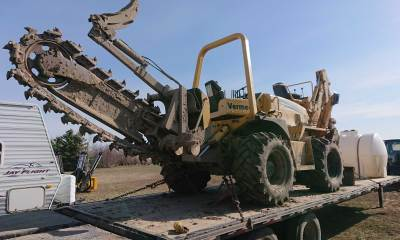 2006 Vermeer RT950 trencher with 2500 hours