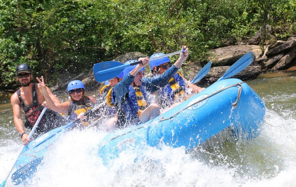 Whitewater rafting fun on the Ocoee River with RaftOne