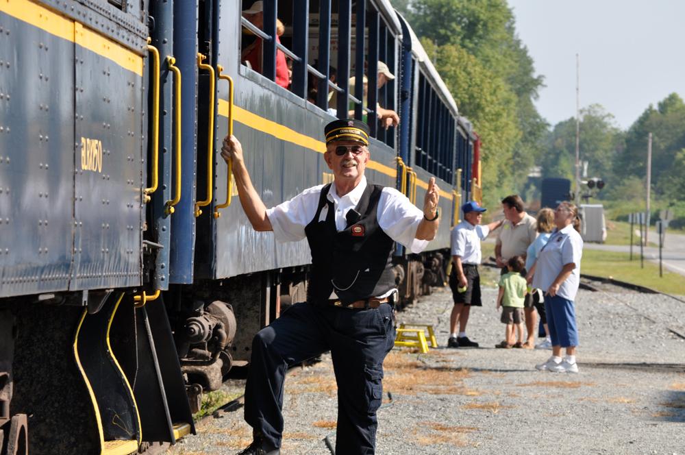 Welcome aboard the Blue Ridge Scenic Railway in Blue Ridge, GA