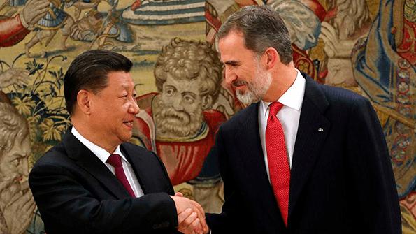 Relaciones comerciales España-China.