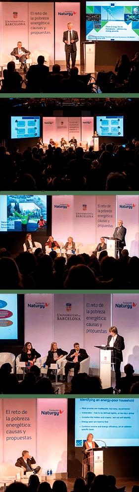 """""""El reto de la pobreza energética: causas y propuestas"""", organizada por el Instituto de Economía de Barcelona en colaboración con la Fundación Naturgy."""