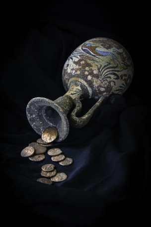 Monedas antiguas como medio de pago.
