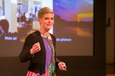 Amber Case, experta en Calm Technology.