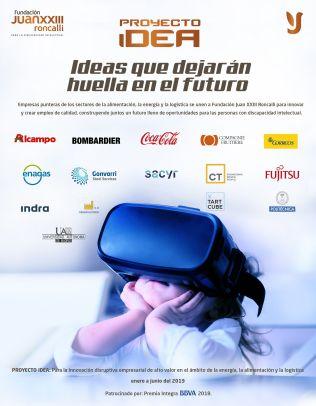 Cartel del Proyecto Idea.