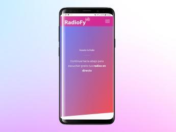 RadioFy app Android.