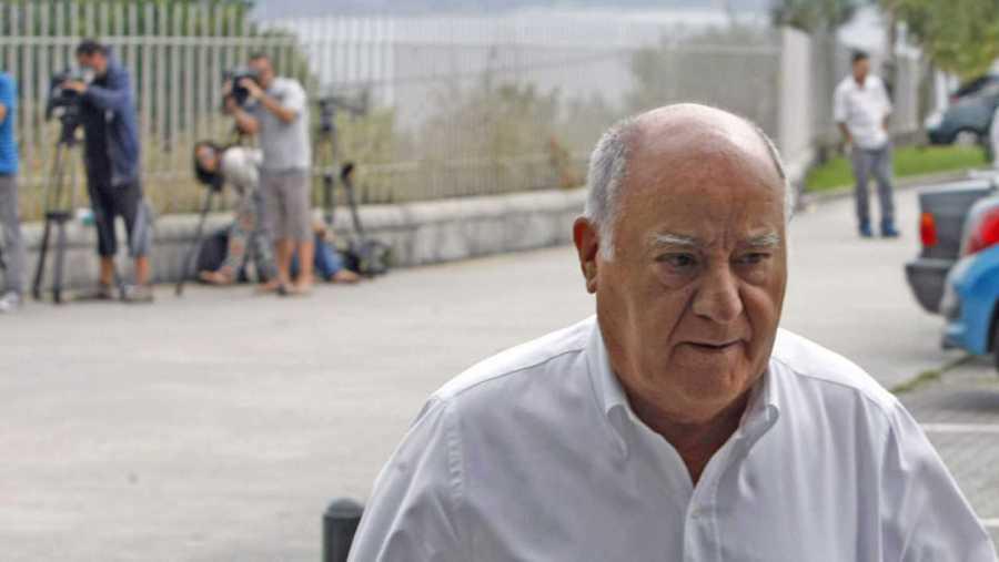 Amancio Ortega, máximo accionista de Inditex.