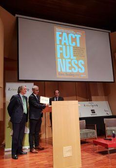 Factfulness, de Hans Rosling (Deusto), ha recibido el Premio al Mejor Libro Empresarial publicado en 2018.