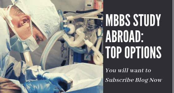 Is it a good option to study abroad for an MBBS