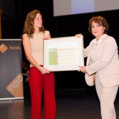 Marina Meijer wint Karen de Bok Talent Prijs voor documentairetalent