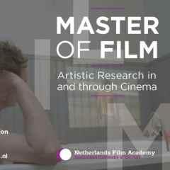 Oproep Masteropleiding Filmacademie – deadline 11 januari 2019