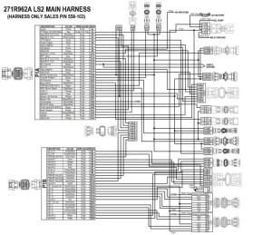 HP EFI ECU & HARNESS KITS GM LS237 (58x crank sensor