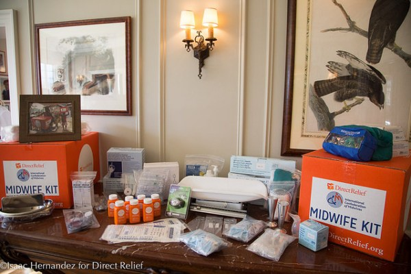 The event raised funds for Midwife Kits, which contain all the tools needed to compliment ICM-approved standards for midwifery training and certification. Photo by Isaac Hernandez.