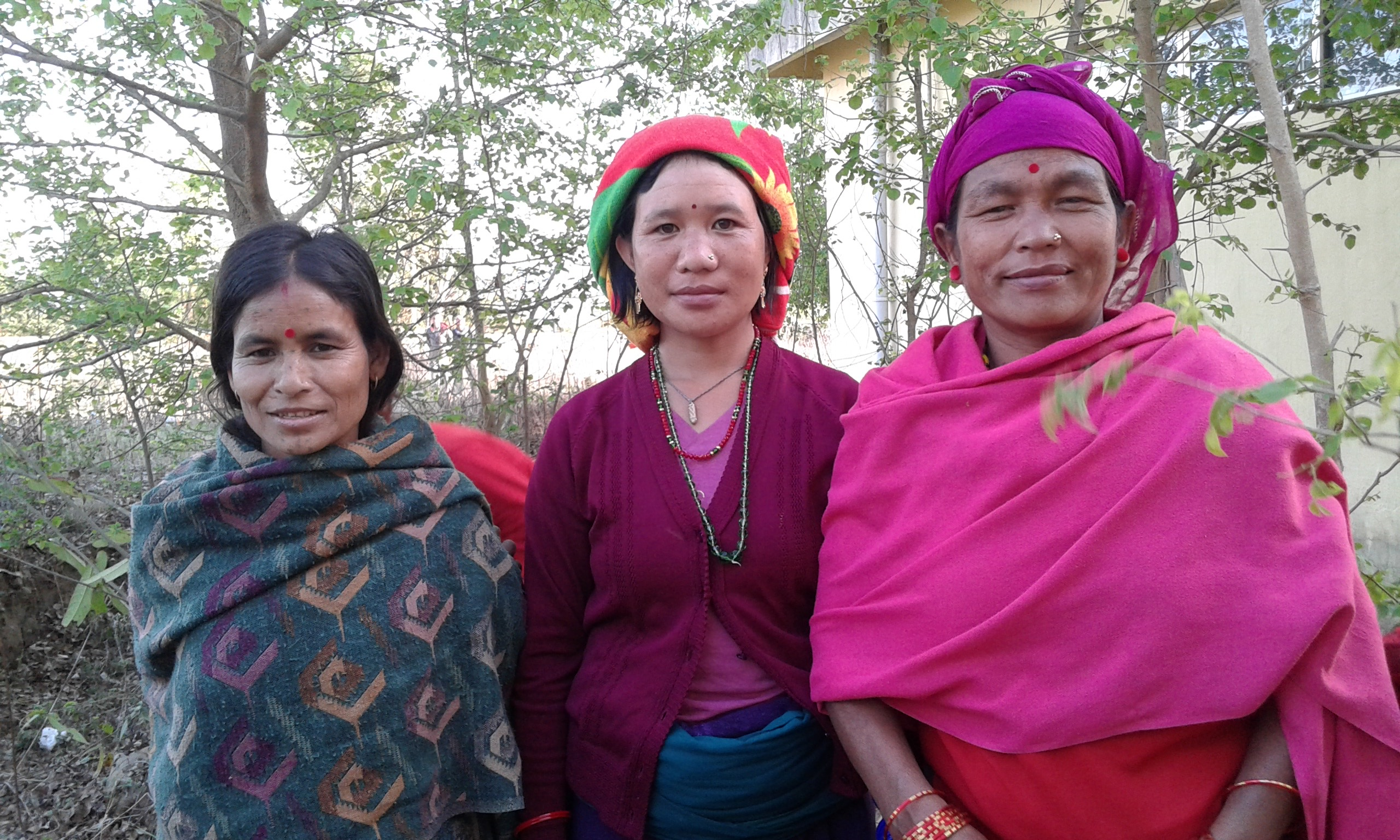 Lali, pictured here on the far right, received fistula repair surgery at Mid-Western Regional Hospital in Surkhet, Nepal. Lali had lived with the condition a decade before she was able to access surgical care. (Courtesy photo)