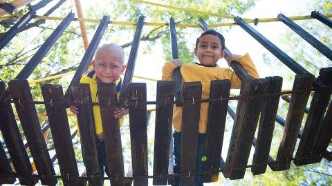 Casa de la Amistad allows kids to play and learn as they undergo treatment in local facilities in Mexico City.(Photos courtesy of Casa de la Amistad)