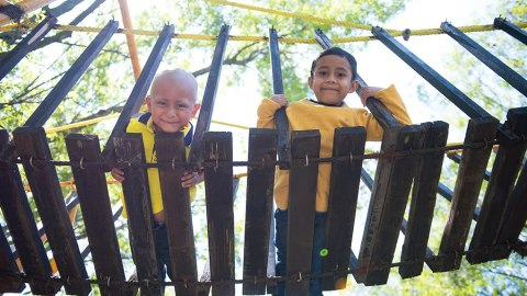 Casa de la Amistad allows kids to play and learn as they undergo treatment in local facilities in Mexico City.(Photos courtesy of Casa de la Amistad)