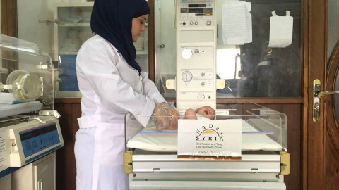 Specialty care remains limited in Syria, but local groups like NuDay Syria are working to provide health services for vulnerable patients. (Photo courtesy of NuDay)