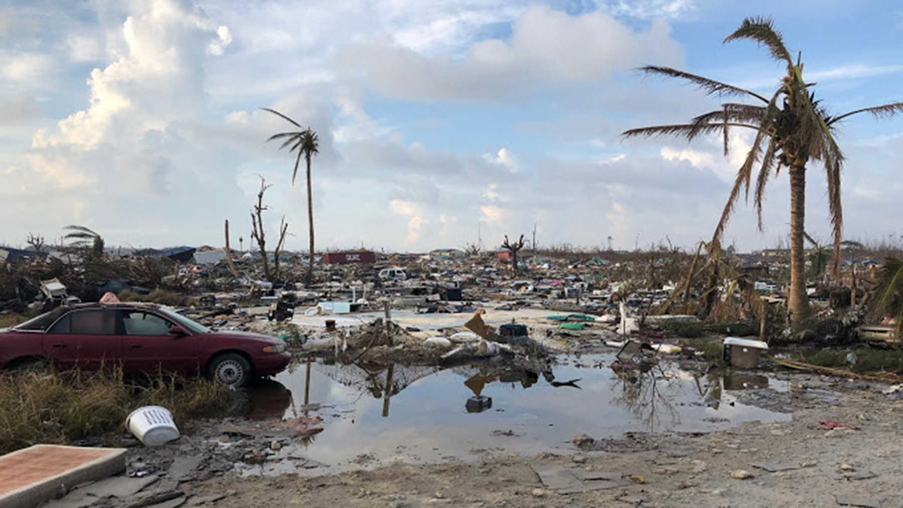 When Luis David Rodriguez arrived on Grand Abaco, he found even more devastation than he'd seen on Maria. (Luis David Rodriguez/Direct Relief)
