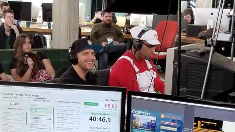 "David ""GrandPOObear"" Hunt at Calithon 2018. (Direct Relief)"
