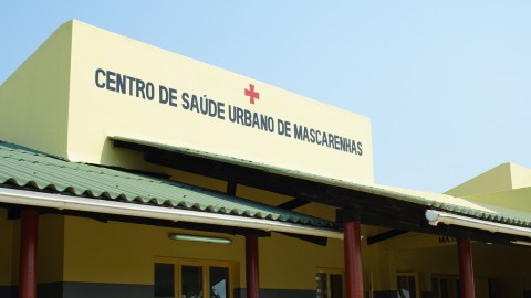 Beira's Mascarenhas Hospital, repaired. (Noah Smith/ Direct Relief)