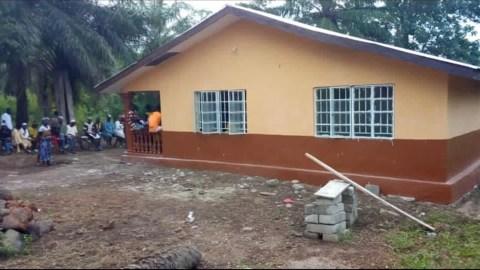 The Robena Health Center under construction. (Photo courtesy of the Robena Health Center)