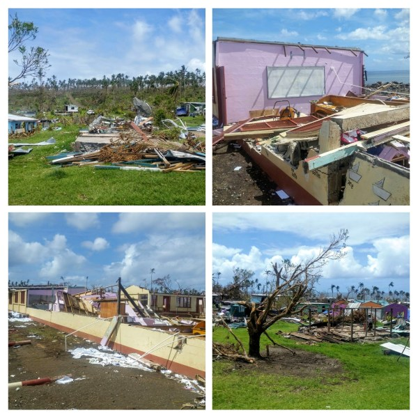 Cyclone Winston Damage
