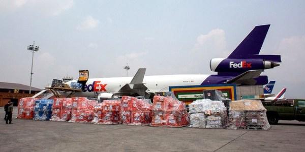 FedEx Airlift Kathmandu Airport