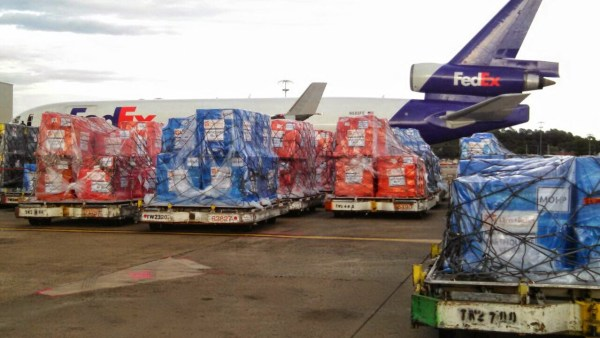FedEx Planes Nepal Earthquake