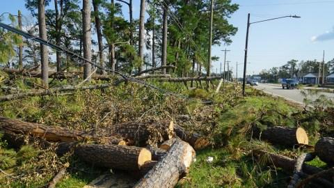 Hurricane Florence damage in Havelock, North Carolina. (Lara Cooper/Direct Relief)