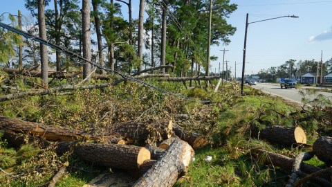 Hurricane Florence damage in Havelock, North Carolina. (Lara Cooper/Direct Relief)