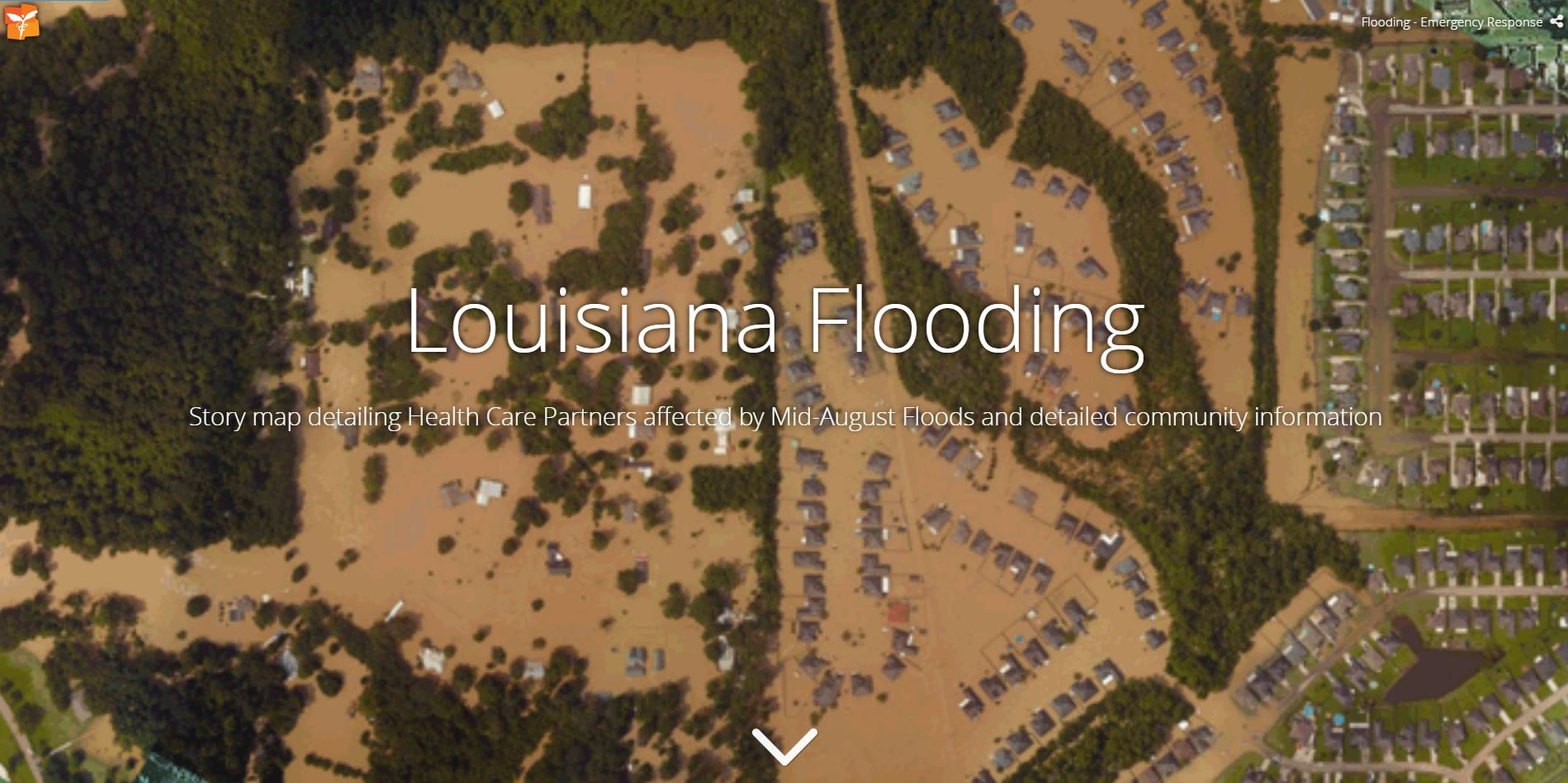 Louisiana Flooding Story Map