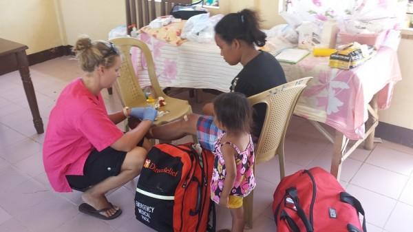Mobile clinic AAI girls Gavin Humphries
