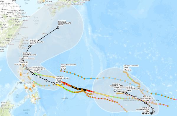 Typhoon Noul screenshot