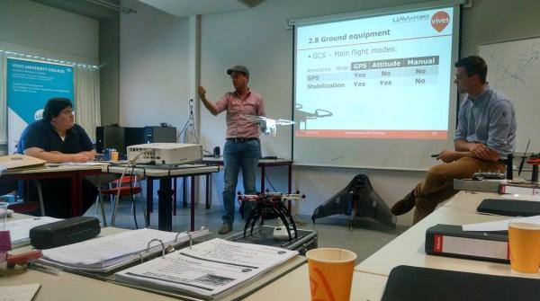 First Global Humanitarian UAV Training