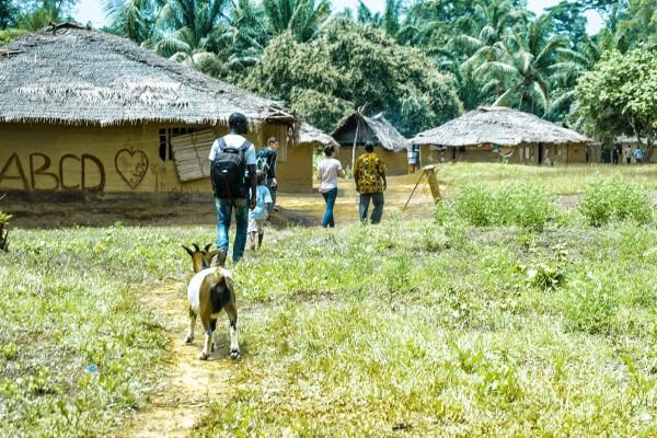 """""""The Last Mile"""" Photo Credit, Kids from Gbarwu, Liberia"""