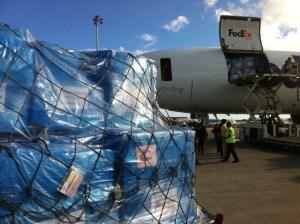 shipment arrives -andrew