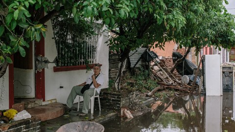 Residents of Oaxaca are still recovering from last week's devastating earthquake. Now flooding is a concern. (Photo by Meghan Dhaliwal for Direct Relief)