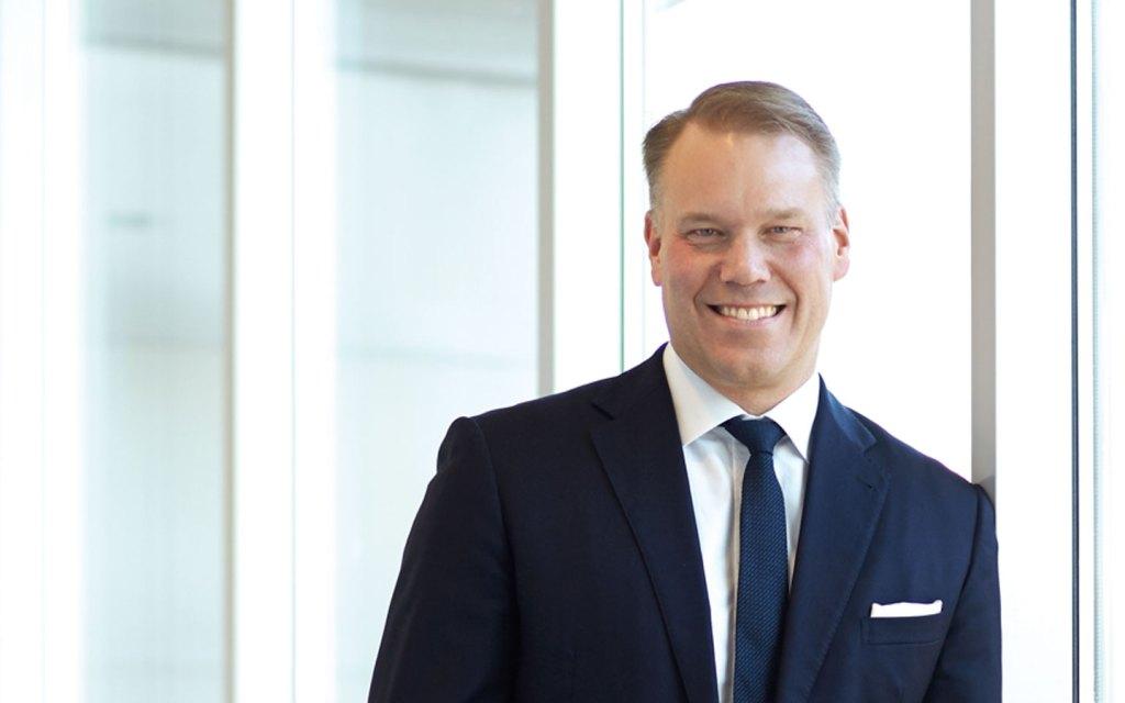 Oriflame CEO and President Magnus Brännström