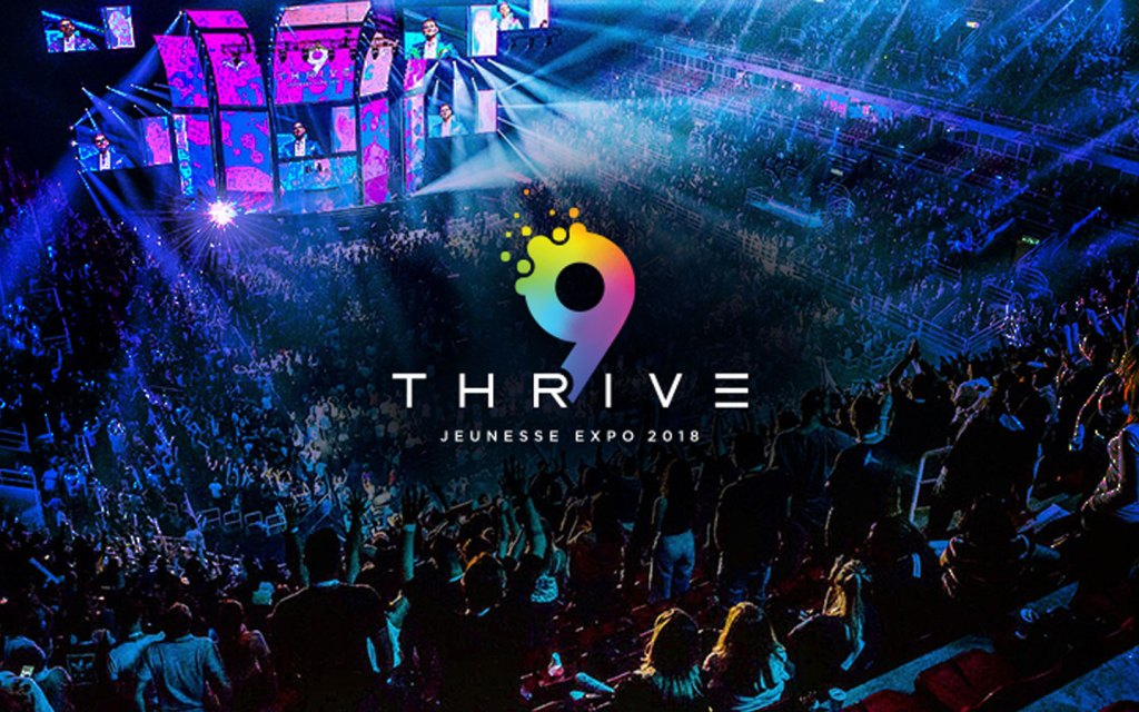 EXPO9 Thrive 2018 World Tour