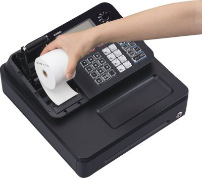 Loading Till Rolls on the Casio SE-G1 - GH585 - Electronic Cash Register