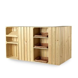 CrateWall Bakery Corner Counter - 180cm